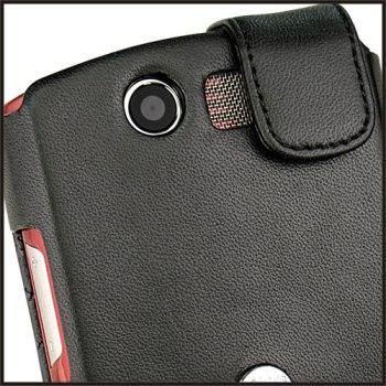 Кожаный чехол книжка Acer камера