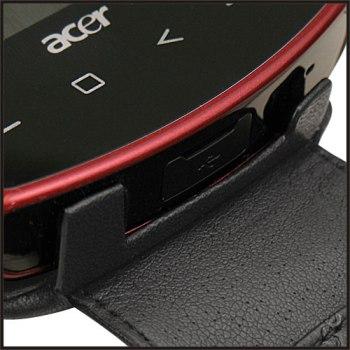 Кожаный чехол книжка Acer USB