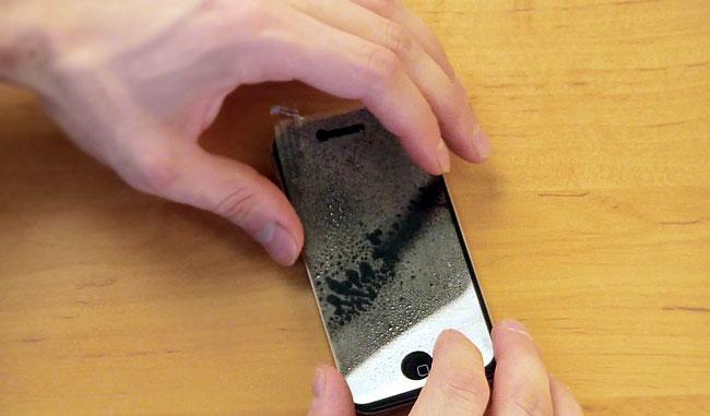 Как сделать защитную плёнку на телефон