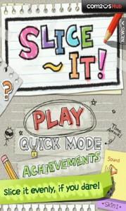Играть в Slice It на Android