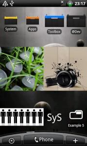 SiMi Folder Widget для Acer на Android