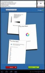 Smart Office+, печать документов