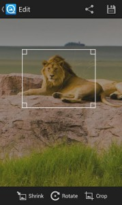 QuickPic, редактор изображений