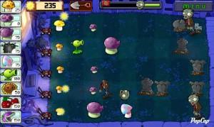 Аркада Plants vs. Zombies на Андроид
