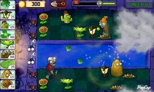 Игра Plants vs. Zombies для Android