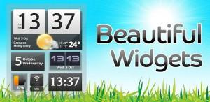 Beautiful Widgets на Android - укрась свой смартфон