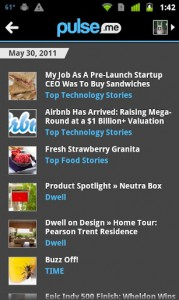 Pulse News, читаем новости на андроиде