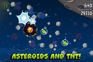Angry Birds Space, теперь с астероидами!