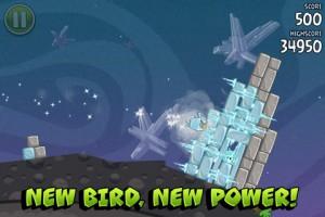Angry Birds Space, новые птицы, новая мощь!