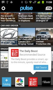 Pulse News, удобная читалка RSS