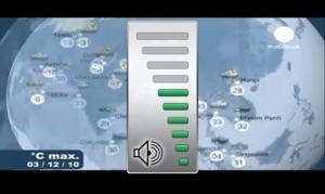SPB TV, регулятор громкости