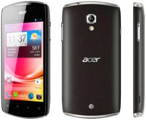 Черный Acer Liquid Glow на android 4